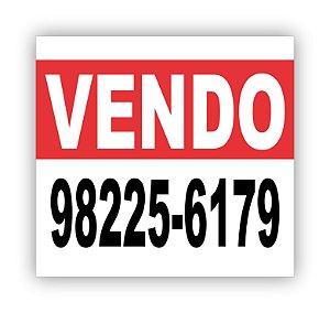 BANNER VENDO OU ALUGO 100X80