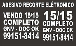 ADESIVO VENDO - Para venda de Carro 30x20cm