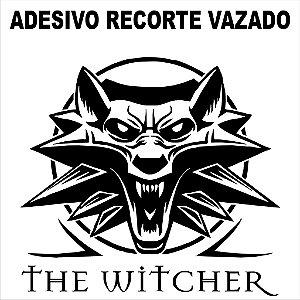 Adesivo Recorte Eletrônico Logo The witcher 25x25cm (vazado)