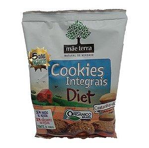 Cookie integral Diet Orgânico, Castanha-do-pará 120g - Mãe Terra