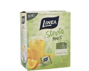 Adoçante em pó Stevia 30g (sachê) - Linea