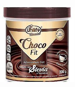 Achocolatado Diet Choco Fit Unilife 200g