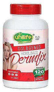 Colágeno com Vitaminas Dermfix Unilife 120 cápsulas