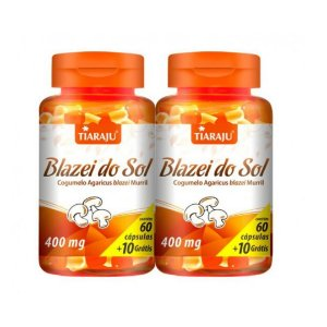 BLAZEI DO SOL 60CAPS X 400MG (2unidades)