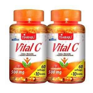 Vitamina C 60 CAPS X 500MG Tiaraju (2 Unidades)