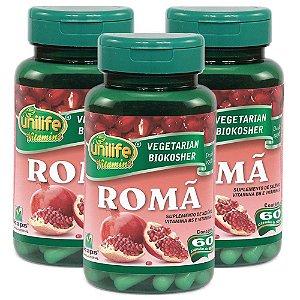 Romã - 60 cápsulas (3 unidades)