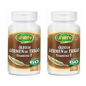 Óleo de Gérmen de trigo - 60 cápsulas (2 unidades)