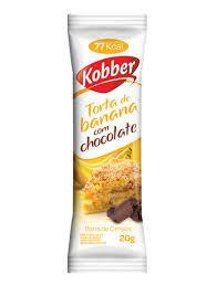 BARRA TORTA DE BANANA COM CHOCOLATE