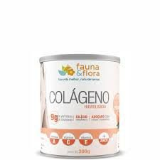 Colágeno Hidrolisado - 9g de peptídeos de colágeno/ silício orgânico/ Adoçado com Stevia e Taumatina - Pêssego