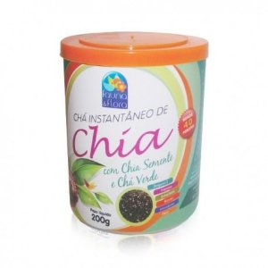 Instantâneo de Chia, chá verde