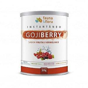 Instantâneo de Goji Berry Sabor Frutas Vermelhas