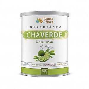 Instantâneo de Chá Verde Sabor Limão