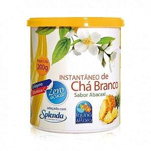 Instantâneo Chá Branco Sabor Abacaxi