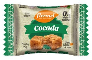 Cocada Zero, 25g - Flormel