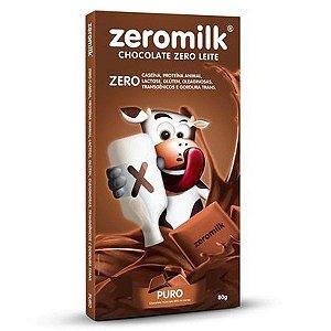 Chocolate Zeromilk Puro - 80g