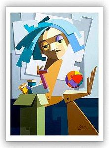 Os brinquedos da Letícia / Fine Art em Tela sem moldura - Manasses Andrade
