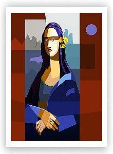 Monalisa no atelier / Tela - Manasses Andrade