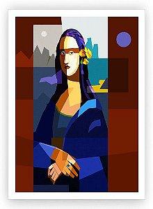 Monalisa no atelier / Fine Art em Tela sem moldura - Manasses Andrade