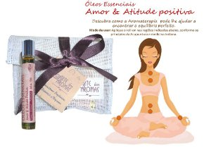Óleos Essenciais Amor&Atitude Positiva Roll-on 10ml