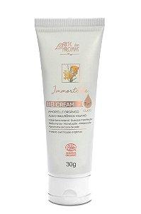 BB Cream Immortelle com Ácido Hialurônico certificado orgânico Ecocert - cor clara 30g