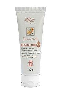 BB Cream Immortelle com Ácido Hialurônico Certificado Orgânico Ecocert 30g - Cor Média