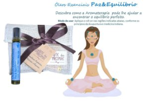 Óleos Essenciais Paz&Equilíbrio Roll-on 10ml