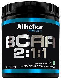 BCAA em Pó 2:1:1 210g Atlhetica Nutrition