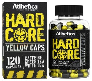 Hardcore Yellow Caps 120caps
