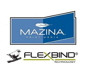 Papel Fotográfico Premium  MAZINA /FLEXBIND p/ Abertura 180° - Impressão Laser