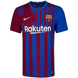 Camisa Barcelona I 21/22 Nike - Masculina
