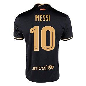 Camisa Barcelona II 20/21 Nike - Masculina - Messi 10