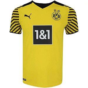 Camisa Borussia Dortmund I 21/22 Puma - Masculina