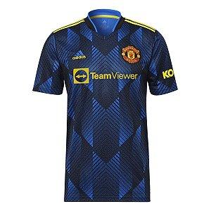 Camisa Manchester United III 21/22 adidas Torcedor - Masculina