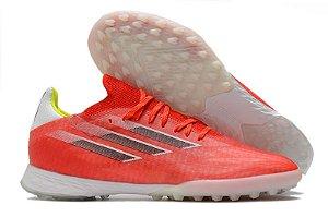 Chuteira Adidas Society X SpeedFlow .1  TF