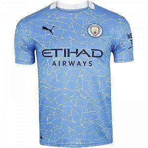 Camisa Manchester City I 20/21 Puma - Masculina