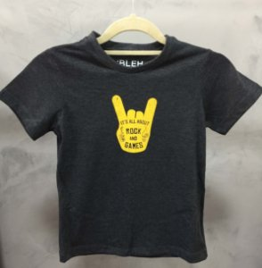 Camiseta It´s All about Rock and Games - Adulto