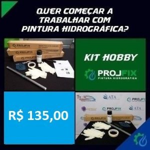 Kit Hobby PROJFIX - Carbono Kevlar - QB104-1