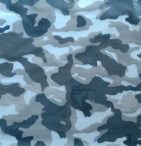 Película - Camuflado Azul Acinzentado - CA550