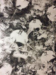 Película - Caveira Chifre - CC753
