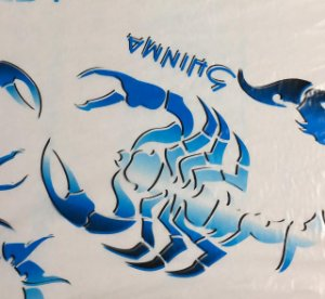 Película - Escorpião Azul - EZL30
