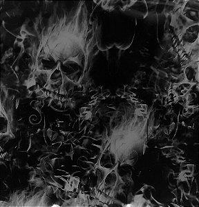 Película - Caveira Chamas 2 - CC005  (METRO QUADRADO)