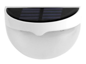 LÂMPADA SOLAR EXTERNA 6 LEDS DE PAREDE - Ref. CH13