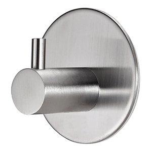 Gancho Multiúso Inox Cabide Adesivo Porta Utensílios Bar Cozinha Banheiro - Ref. Ch34