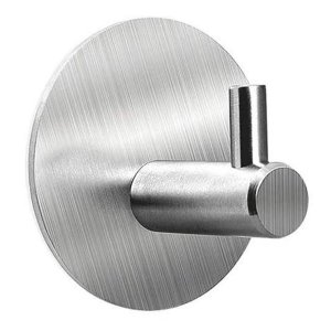 Gancho Adesivo Inox Cabide Adesivo Multiuso Porta Utensílios Cozinha Banheiro Quarto Escritório Loja - Ch44