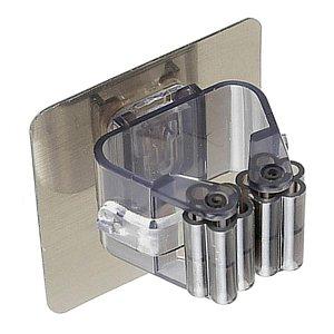 Gancho Cabide Adesivo Simples de Parede para Vassoura MOP  Suporte de Acessórios - Ref. Ch48, Ch49, Ch53, Ch57