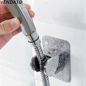 Suporte Chuveirinho Ducha Higiênica Chuveiro Adesivo Cabeça Ajustável sem Furos na Parede Ref. CH87