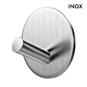 Gancho Adesivo Inox Cabide Multiúso Porta Utensílios Cozinha Banheiro Quarto Escritório Loja - CH95, CH109