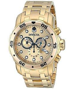 ab1d952d6be Relógio Invicta Pro Diver 0074 - Banhado a ouro 18k