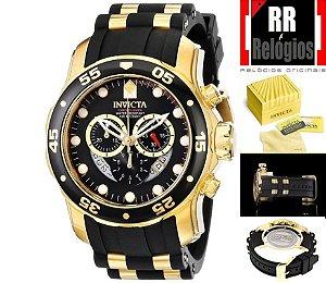 a40af3738cc Relógio Invicta Pro Diver 6981 - Banhado a ouro 18k
