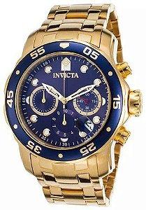 3fd509d125c Relógio Invicta Pro Diver 0073 - Banhado a ouro 18k